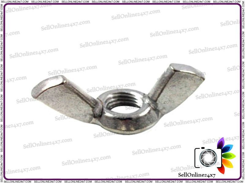 A2 Steel Stainless Wing Nuts M-12 Hi Quality Wing Nut Pack of 10 to 50 Pieces