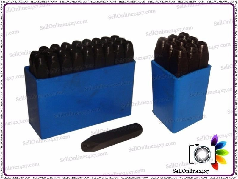 5/32 Inch 36 pcs Hand Marking Letter And Number Punches High Quality