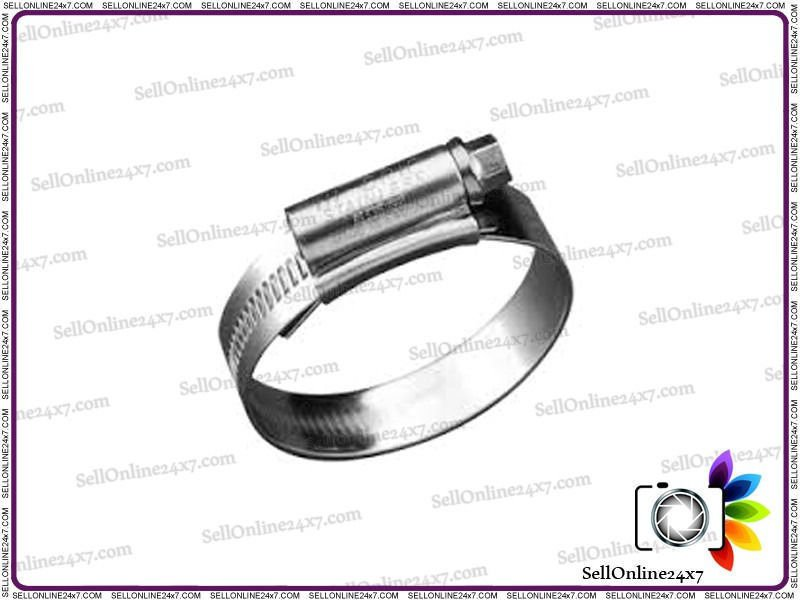 Stainless Steel Hose Clamps Clips (Grade-304) 100mm-120mm Pack 2-100