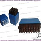 """Best Quality 36 Pcs 1/8"""" Hand Metal Marking Punches Alphabet /Numbers Stamps"""