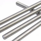 "Round Head A2 Stainless Steel 304 Fully Threaded Rod/Bar/Studs -M16 x 25mm (1"")"
