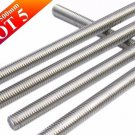 Lot of 5 Pieces A2 Stainless Steel 304 Fully Threaded Rod/Bar/Studs -M6 x 500mm