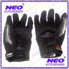 New Padded Leather Racing Gloves With Hard Knuckle Protector For All Motorcycle