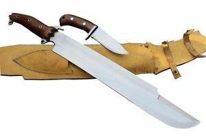"18"" Predator EUK Knife, EGKH Survival Machete Kukri, Hand Forged Blade Khukuri"