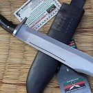 "16"" Hand Forged Full Tang Blade Bowie Knife, EGKH Nepal Kukri Machete Knives"