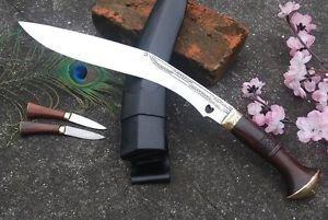 """12"""" Traditional Cheetlage Kukri, Hand Forged Blade Gurkha Khukuri,Nepalese Knife"""