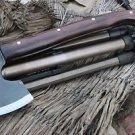 6 Inch Tomahawk Axe,Hand Forge Full Tang Blade EGKH Nepal Knife, Machete Knives