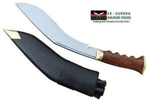 """11"""" Blade World War Gripper Handle Khukuri -Traditional Gurkha Kukri- EGKH Blade"""