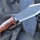 """8""""Spear-Point Survival Dagger, Full Tang Blade EGKH Nepal Machete, Kukri Knives"""