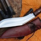 "11"" Gurkha Kukri,Authentic British Gurkha Afghan Issue Brown Sheath EGKH Khukuri"