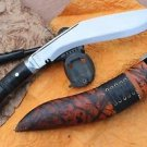 "10"" Panawal Jungle Rough Kukri,EGKH Khukuri, Nepal Hand Forged Gurkha Knife"