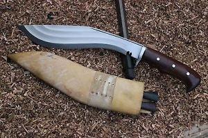 "12.5""3 Fuller Farmer Kukri,Full Tang Blade Guard Handle Knife,EGKH Nepal Khukuri"