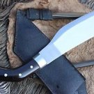 "10"" Parang Jungle Machete, Hand Forged Full Tang Blade EGKH Nepal Knife, Kukri"