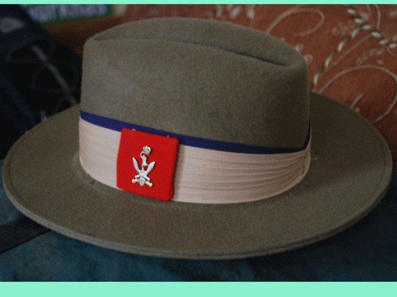 British Gurkha Hat Signal Regiment Insignia - Ex-Gurkha Khukuri House(EGKH0