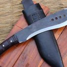 "12"" Rust Free Book Of ELI Machete, EGKH Nepal Hand Forge Knife, Khukuri Knives"