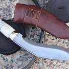 "8"" Gurkha Mini Service Kukri, EGKH Khukuri, Nepal Hand Forged Knife Supplier"