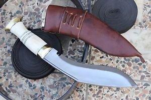 "8"" Gurkha Mini Service Kukri, EGKH Khukuri, Nepal Hand Forged Knife Supplier"