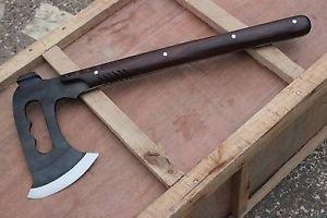 """8"""" Tomahawk Axe, Hand Forge Full Tang Blade EGKH Nepal Knife, Machete Knives"""
