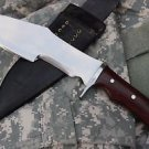 "9.5""Arrowhead Bowie Machete, Hand Forged Full Tang Blade EGKH Nepal Knife, Kukri"