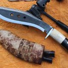"10"" Dragon Survival Rust Free Blade Kukri,EGKH Khukuri,Nepal Hand Forged Knife"