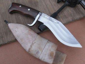 """6""""  3 Fuller Hand Forged Full Tang Kukri Ex-Gurkha Khukuri House(EGKH) Knife"""