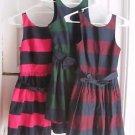 NWT Lot 3 Womens A&F Abercrombie & Fitch 2 Dress Summer Swing Sundress Dresses