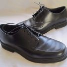 Rockport Mens Black Leather Oxford Lace Up Plain Toe Dress Shoes sz 10 M M1788