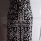 Vintage Trends by Jerrie Lurie Mod Maxi Long Turtleneck Asian Dress Womens S