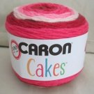 Caron Cakes Yarn Cherry Chip 80% Acrylic and 20% Wool  #4 - Medium Worsted Mixed