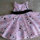 BOUTIQUE JILLIAN'S CLOSET size 12 Months lined DRESS pink floral tulle Easter