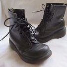 Vintage Mens 1980s Doc Martens Boots Air Wair 8 Eye Leather Made England Combat