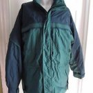 Mens Vintage 90s Columbia Gizzmo 3in1 Winter Parka Ski Snow Jacket Colorblock L