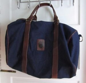 International Brotherhood of Teamsters Canvas Duffle Travel Overnight Bag Navy