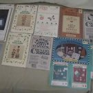 Country STENCIL Heirlooms Christmas Alphabet Numbers Borders Homespun Art Signs