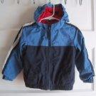 LL Bean Kids Toddlers Fleece Lined Windbreaker All Weather Jacket Little Boys 2T