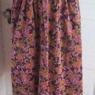 Womens Susan Bristol Cotton Velvet Velveteen Velour Pleated Midi Long Skirt 6