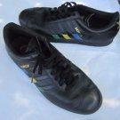 Adidas Samba Gazelle Colored 3 Stripes Distressed SNEAKERS Shoes Mens 11 Black