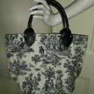 Waverly La Petite Ferme Toile Accessories Unlimited Boutique Handbag Purse Maine