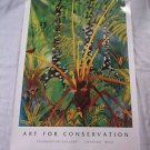 1992 Watercolor Growth Upon Growth by Ari Vanderschoot Art Poster Litho Print FE