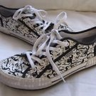 Kenzo Paris Vans Black & White Tiger Print Helmut Sneakers Shoes Womens 43 10.5