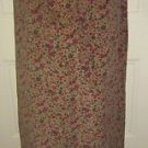 NOS Laura Ashley Belted Corduroy Long Prairie Skirt Victorian jewels Womens 6