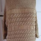 NWT Womens Only Delilah Salesman Sample Cut Out 3/4 Sleeve Crochet Sweater M