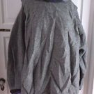 Vintage Ragamuffin Handmade Isle of Skye Wool Cowl Neck Turtleneck Baggy Sweater