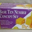 Base Ten 10 Number Concept Set Ideal School Supply Math Manipulative Grades K-9