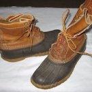 Vintage Mens 7 M Womens 9 M Genuine LL Bean USA Duck Hunting Boots Maine