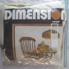 VTG 1980 Dimensions Crewel Patchwork & Rocker Michel Cross Stitch Embroidery Kit