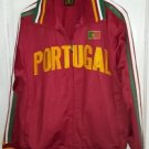5sun Futbol Soccer Portugal Track Athletic Warmup Running Jacket Mens sz M Coat