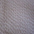 Vintage Seersucker Puckered Pale Pink Remnant Quilting Fabric Material Crafter