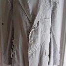 Polo Ralph Lauren Mens Seersucker Cotton Blazer Sport Coat Jacket 40R USA VTG