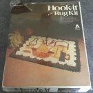 VINTAGE HOOK-IT DESIGNER LATCH HOOK RUG KIT VOGART CRAFTS Country Kitchen 20x27